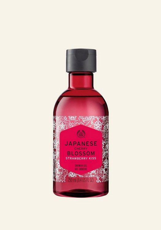 Japanese Cherry Blossom Strawberry Kiss Shower Gel 250ml