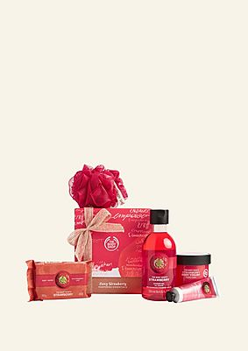 Juicy Strawberry verwöhnendes Geschenkset