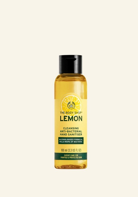 Lemon Cleansing Anti-Bacterial Hand Sanitiser 100ml
