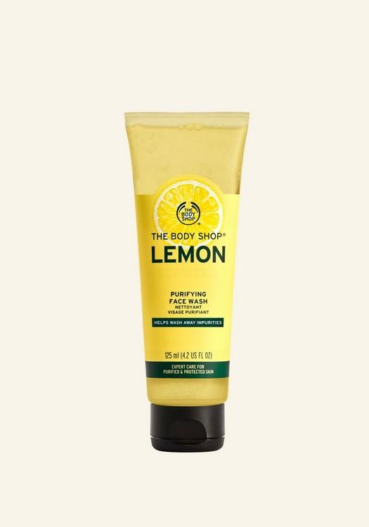 Nettoyant purifiant pour le visage au citron