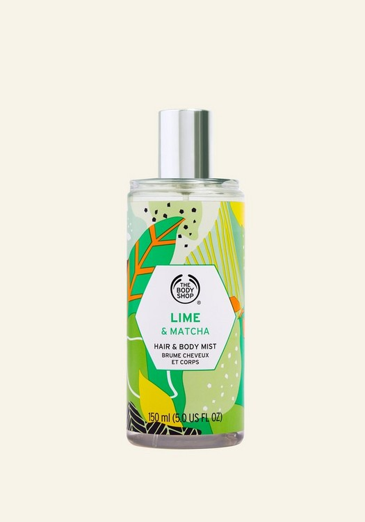 Lime & Matcha Hair & Body Mist 150ml