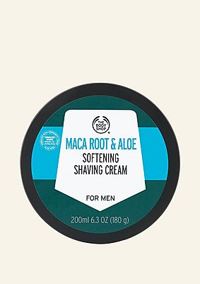 Maca Root & Aloe Softening Shaving Cream  For Men