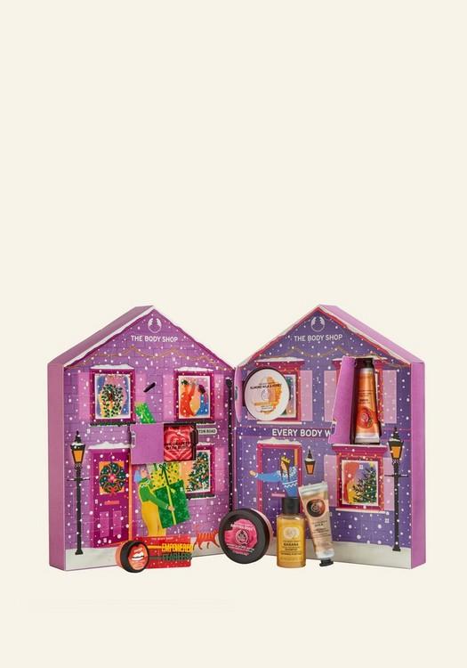 Deluxe adventskalender van the Body Shop