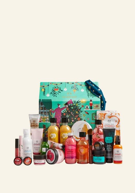 Ultimate adventskalender van the Body Shop