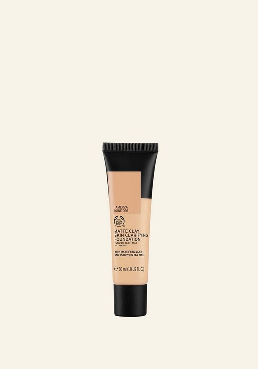 Matte Clay Skin Clarifying Foundation 026 Tamerza Dune