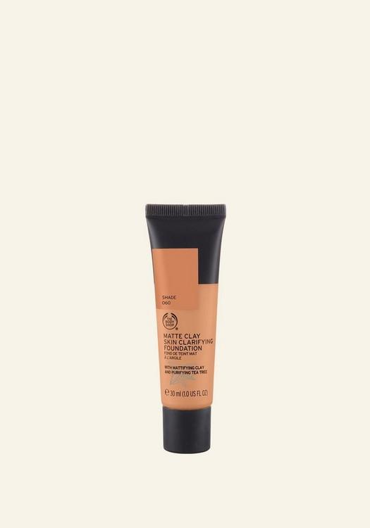 Matte Clay Skin Clarifying Foundation 060 Brazilian Hazel