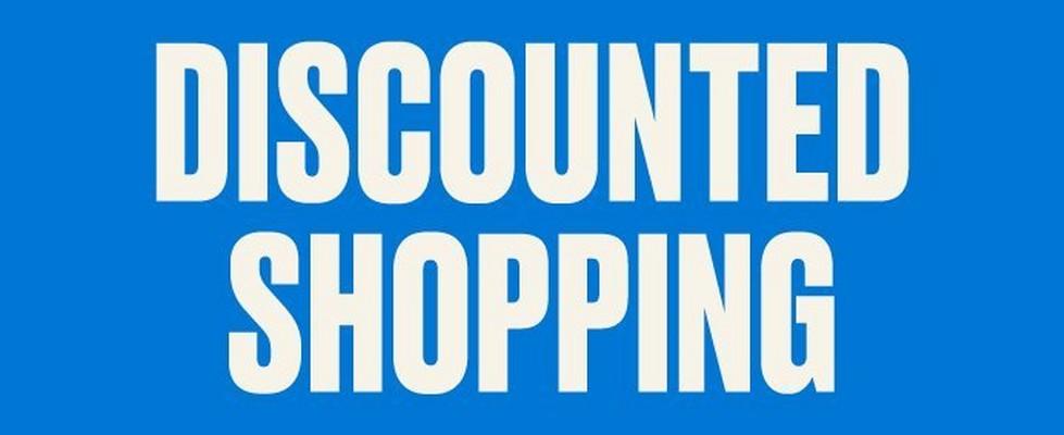 Discounted shopping