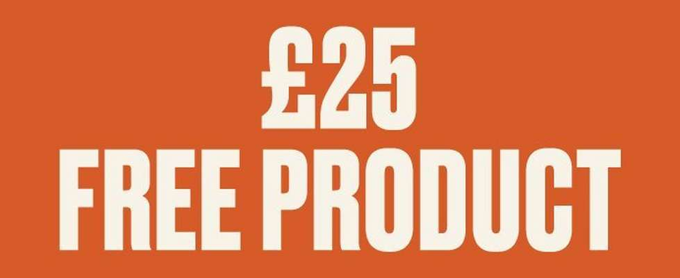 £25 free product