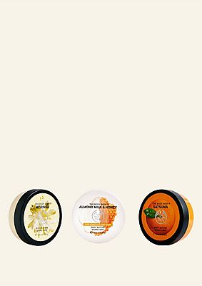 Nourishing Body Butter Trio