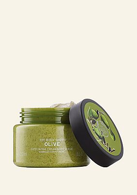 Olive Exfoliating Cream Body Scrub