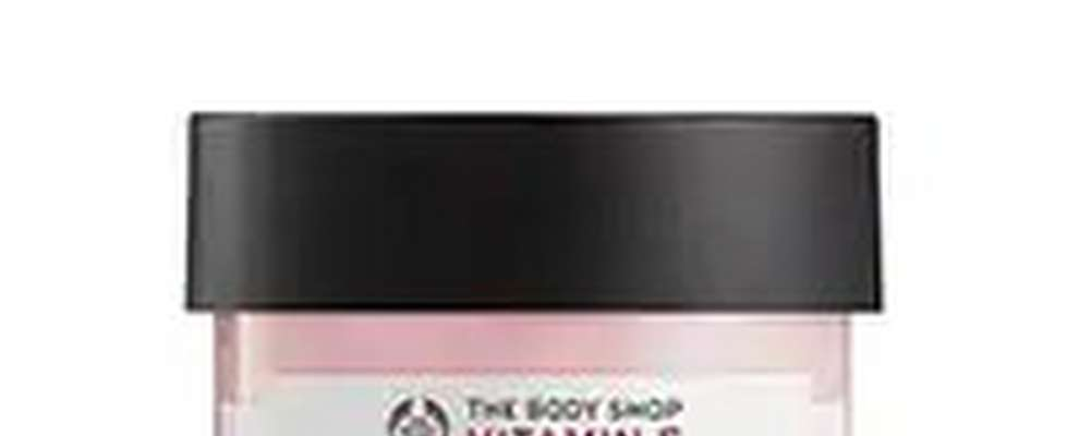 TUB OF BODYSHOP VITAMIN E MOISTURE CREAM