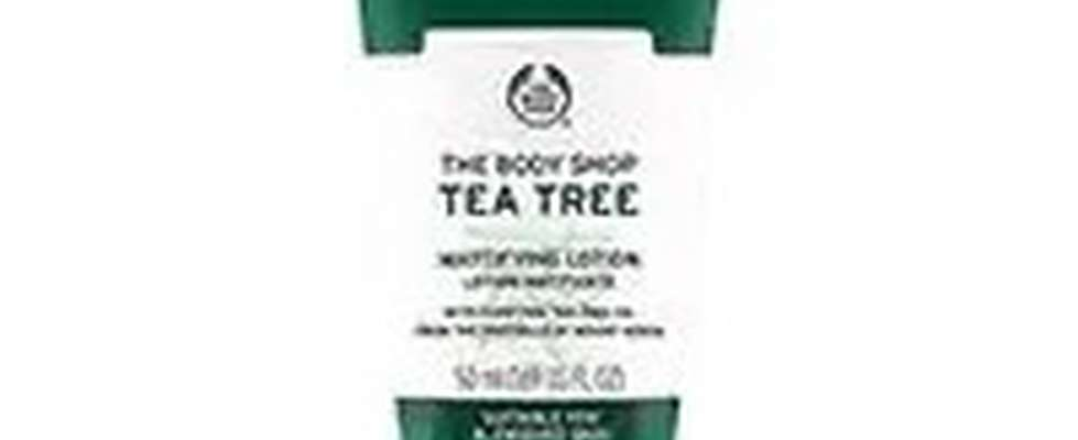 BODY SHOP TEA TREE MATTIFYING LOTION TUBE