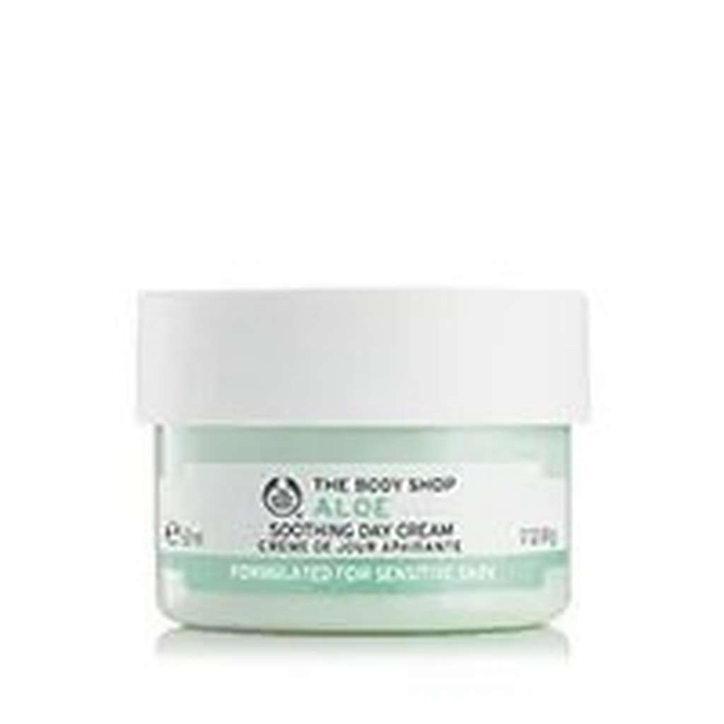 POT OF BODY SHOP ALOE SOOTHING DAY CREAM