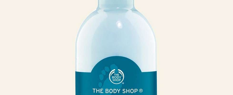 The Body Shop Peppermint Foot Lotion