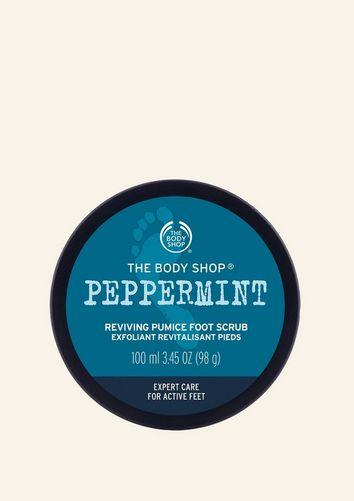 Peppermint Bimsstein-Fußpeeling