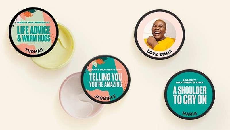 FOUR POTS OF BODY SHOP BODY BUTTERS