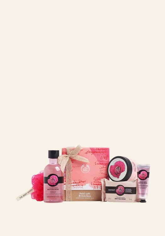 Petal-Soft British Rose Pampering Essentials1 Piece