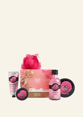 Petal-Soft British Rose Premium Geschenkset