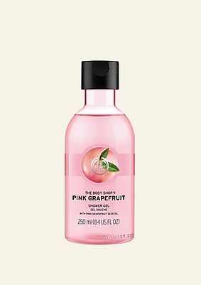 Gel douche au pamplemousse rose