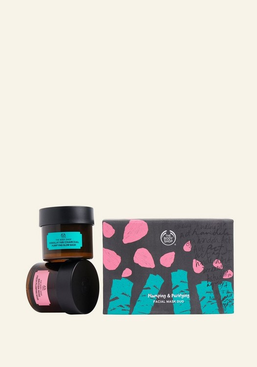 Plumping & Purifying Facial Mask Duo 1 Piece