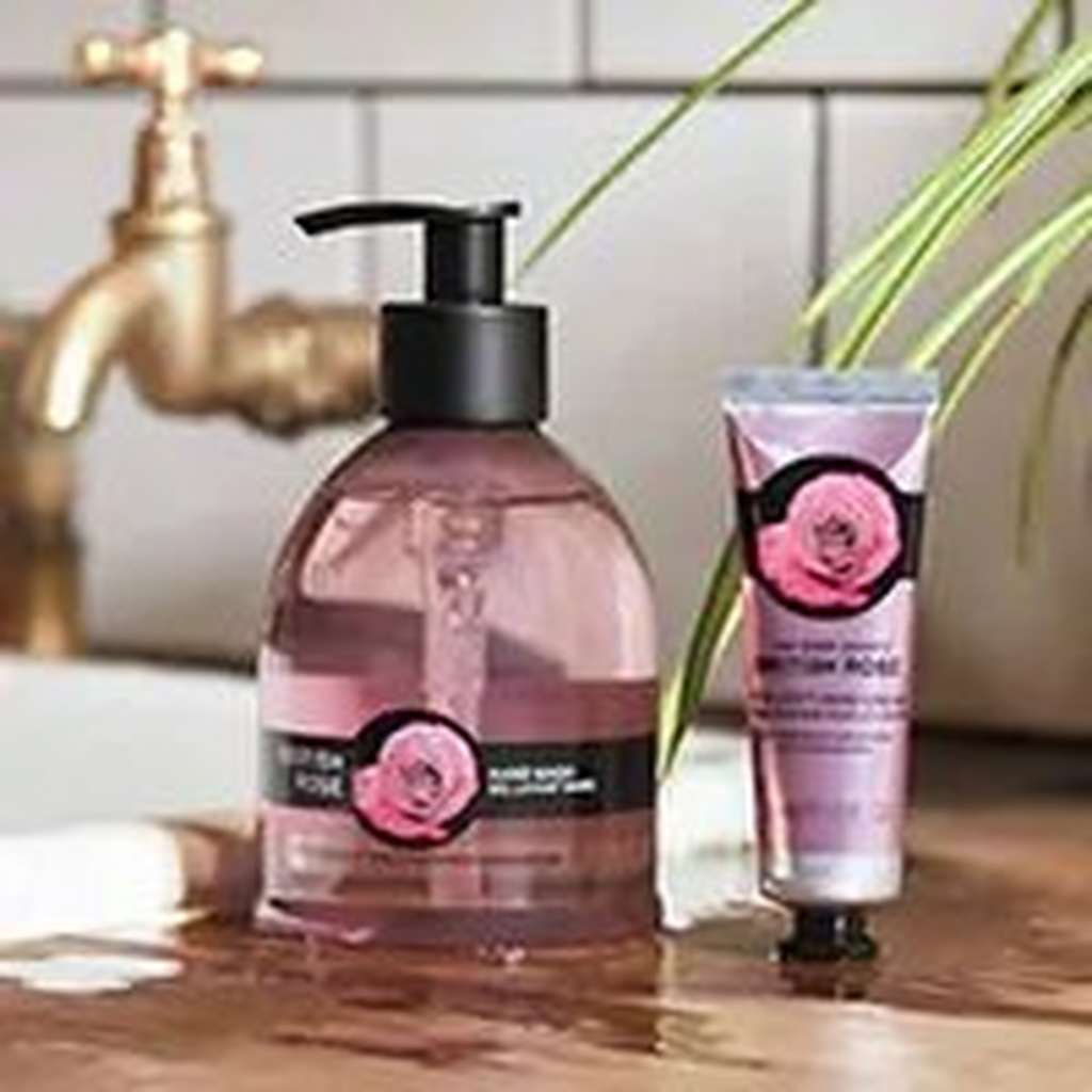 The Body Shop British Rose products