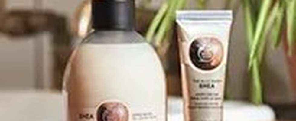 The Body Shop Shea products