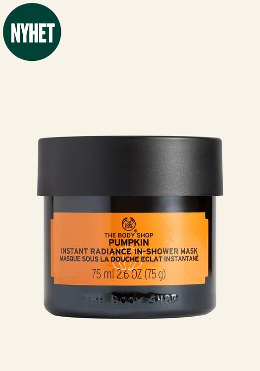 Pumpkin Instant Radiance In-Shower Mask 75ml