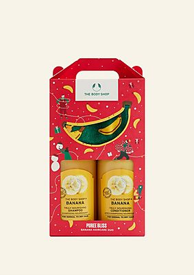 Puree Bliss Banana Haircare Duo
