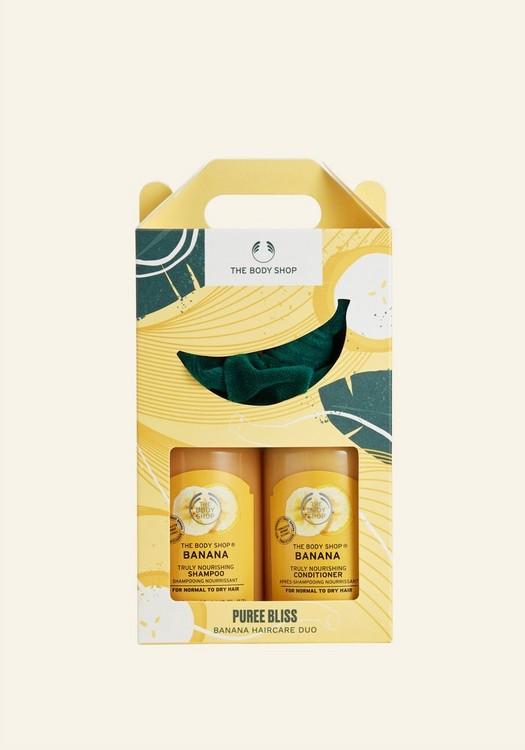 Puree Bliss Banana Haircare Duo
