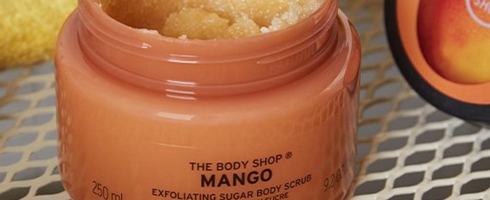 Exfoliante corporal de Mango