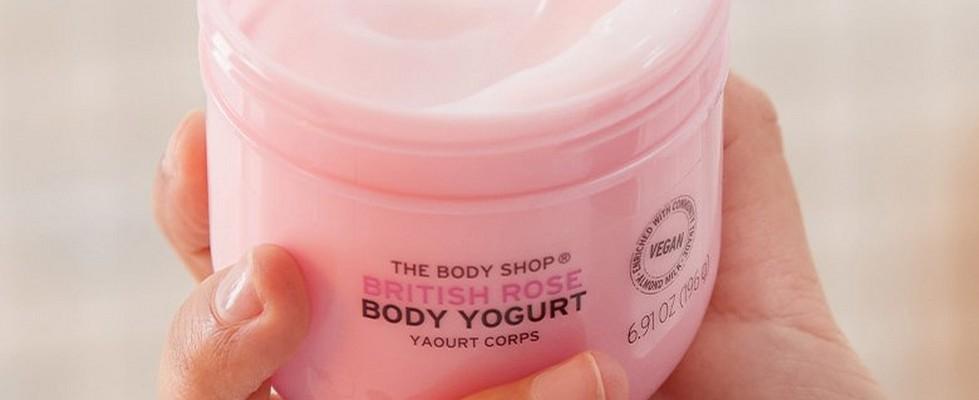 British Rose Body Yogurt