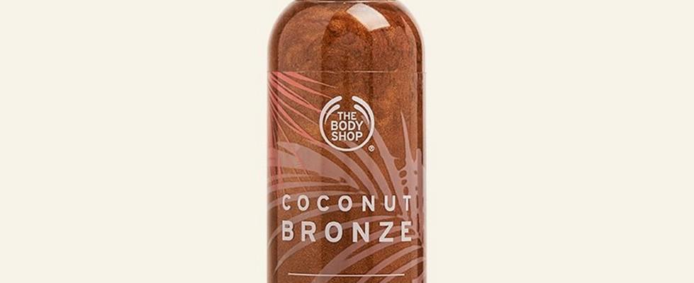 Coconut Bronze Shimmering Dry Oil