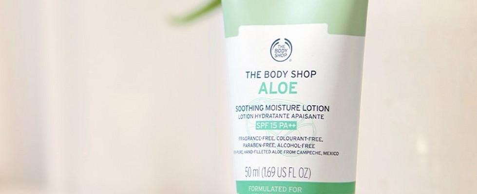 Aloe Soothing Moisture Lotion SPF15