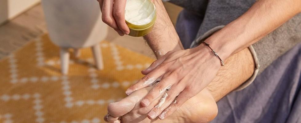 Foot protector application