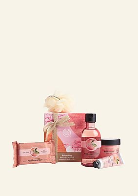 Refreshing Pink Grapefruit Pampering Essentials