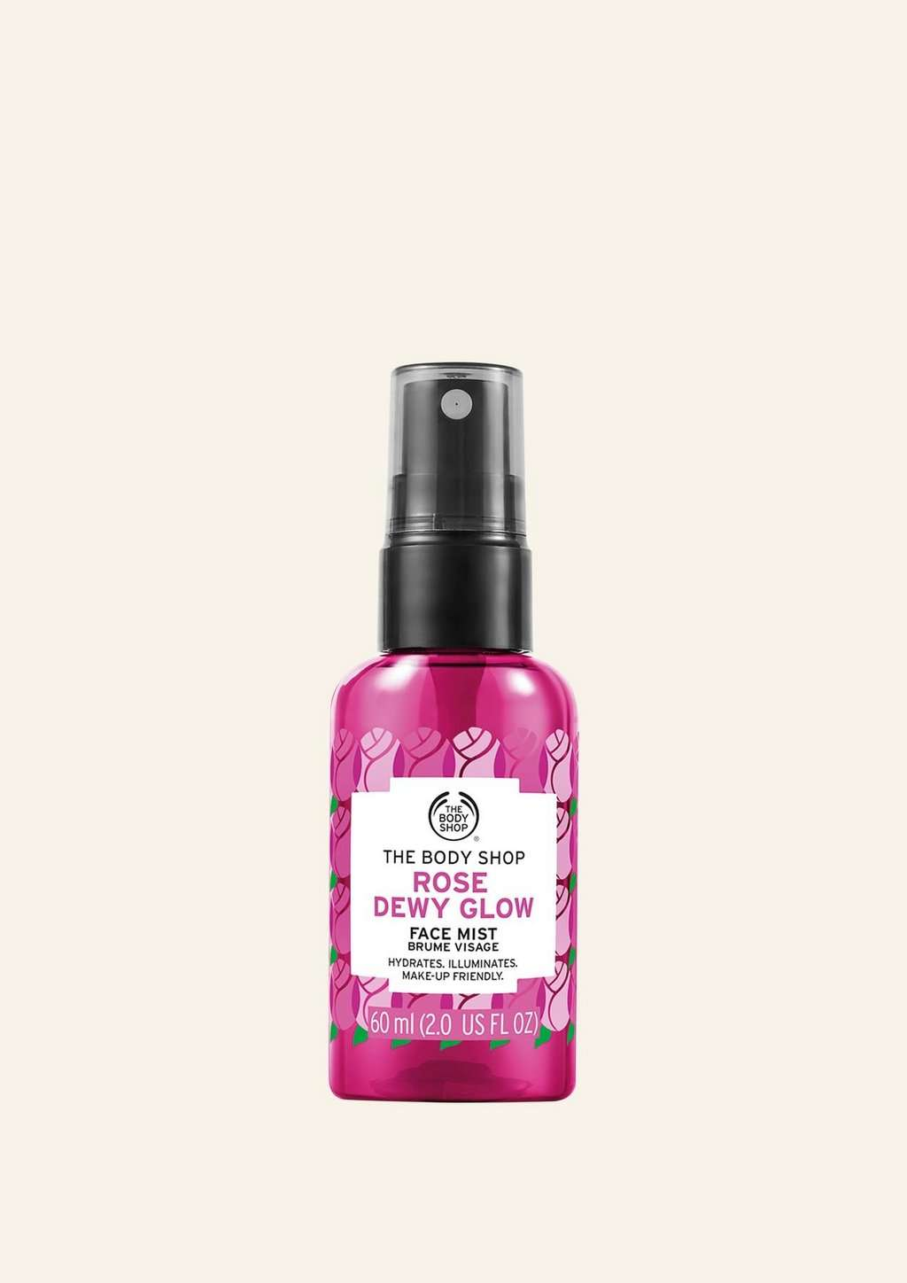 Rose face mist product