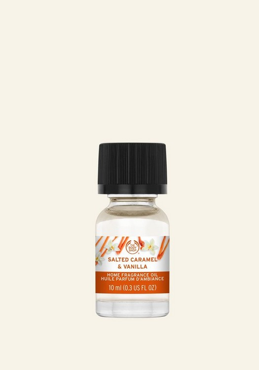 Oil Salted Caramel & Vanilla Home Fragrance Oil 10 ml