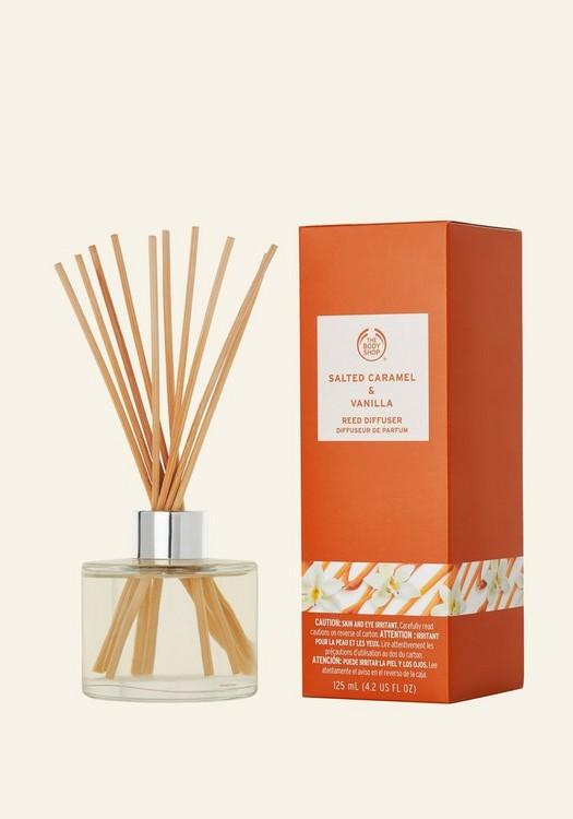 Salted Caramel & Vanilla Reed Diffuser 125ml