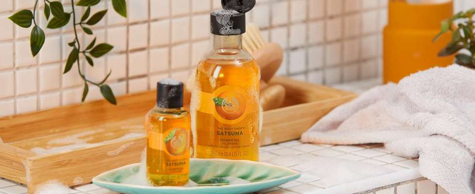 The Body Shop Satsuma products