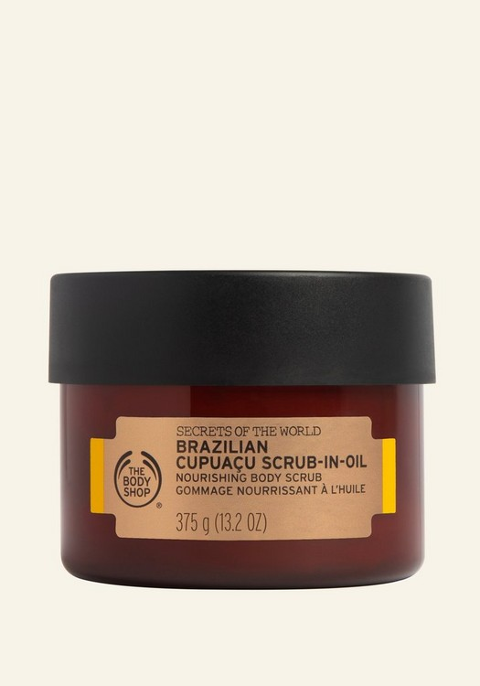 Secrets Of The World Brazilian Cupuaçu Scrub-in-Oil 350ml