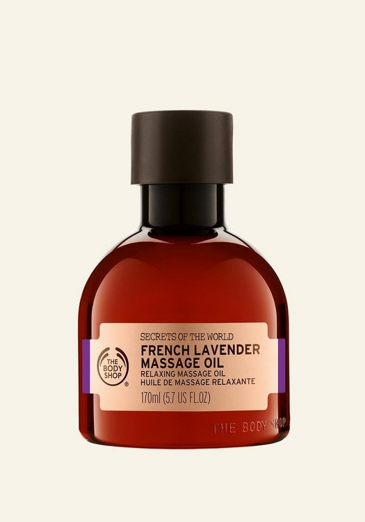 Secrets of the World French Lavender Massage Oil