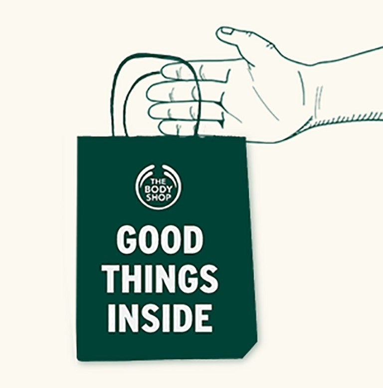 click and collect The Body Shop