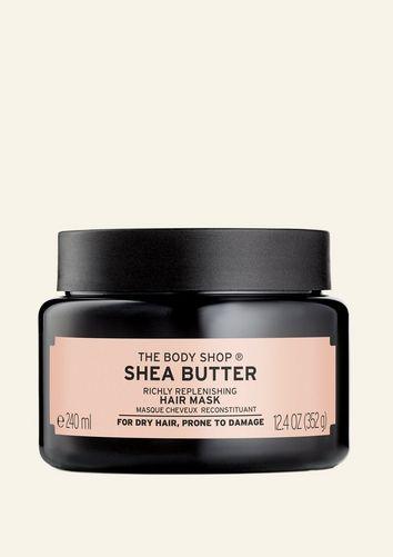 Shea Butter feuchtigkeitsspendende Haarmaske