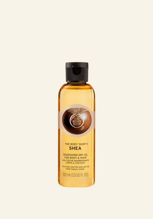 Shea Butter Beautifying Dry Oil for Body, Face & Hair 100 ML