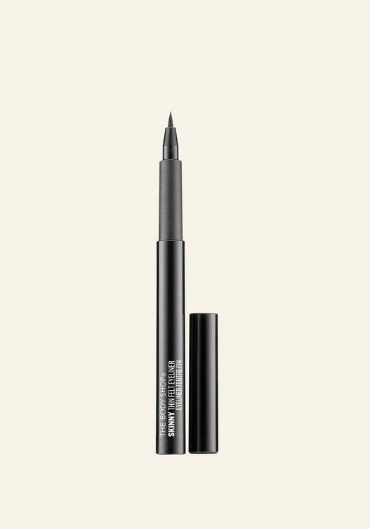 Eyeliner mince en feutre noir 1.1ML