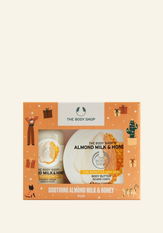 Coffret Duo Apaisant Almond Milk & Honey