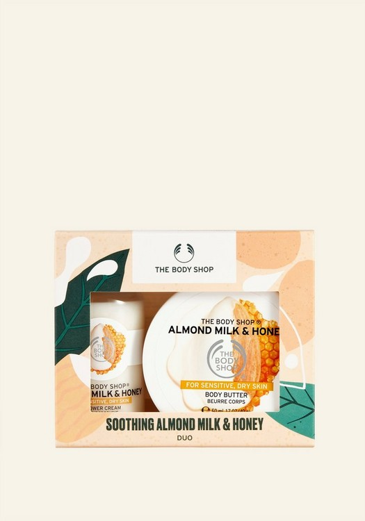 Soothing Almond Milk & Honey Duo