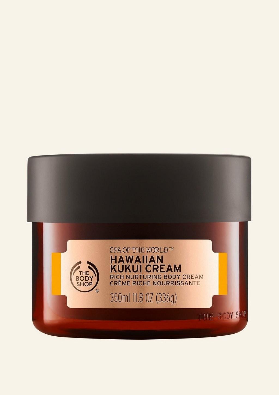 Crème Riche Nourrissante au Kukui d'Hawai Spa of The World™ The Body Shop