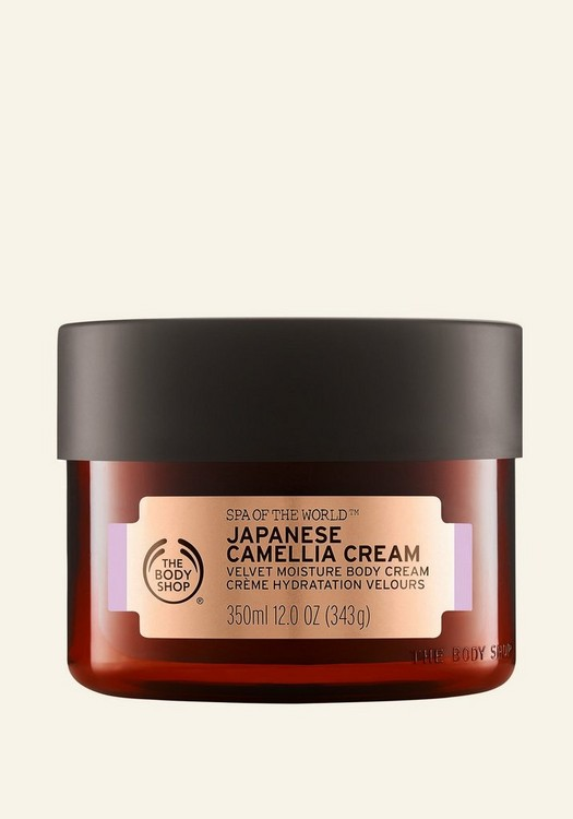 Spa Of The World™ Japanese Camellia Cream 350ml
