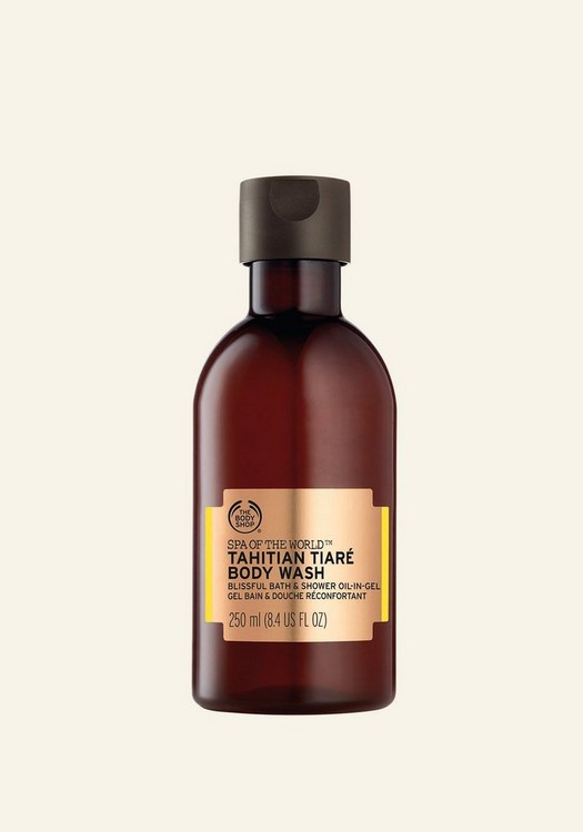 Spa of the World™ Tahitian Tiaré Bath & Shower Oil-In-Gel 250ml